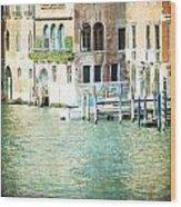 La Canal - Venice Wood Print