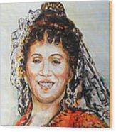 La Carmencita Wood Print