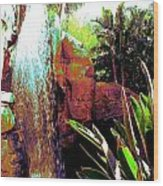 La Cascade  Wood Print