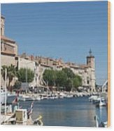 La Ciotat Harbor Wood Print