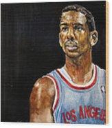 La Clippers' Chris Paul  Wood Print