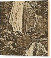 La Coca Falls El Yunque National Rainforest Puerto Rico Prints Rustic Wood Print