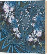 La Danse Des Papillons Wood Print