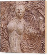 La Diosa 1 Wood Print