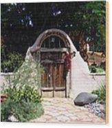 La Entrada A La Casa Vieja De Mesilla Wood Print