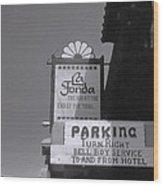 La Fonda  Wood Print