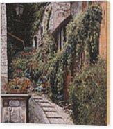La Fontanella Wood Print