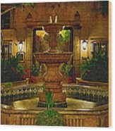 La Fuente At Tlaquepaque Wood Print