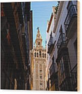 La Giralda - Seville Spain  Wood Print