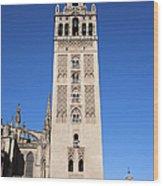 La Giralda Bell Tower In Seville Wood Print