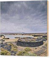 La Isleta On Lanzarote Wood Print