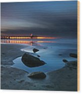 La Jolla Sunset 7 Wood Print