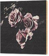 Le Langage Des Fleurs Wood Print