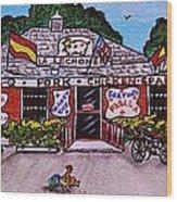La Lechonera Restaurant Key West Florida Wood Print