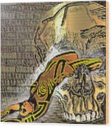 La Petite Mort Color Wood Print