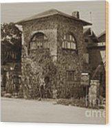 La Playa Carmel And Located At Camino Real At Eighth Ave. Circa  1925 Wood Print