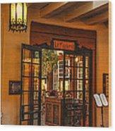 La Plazuela Wood Print