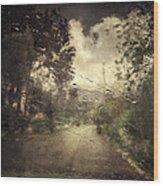 La Pluie 4.45 Wood Print