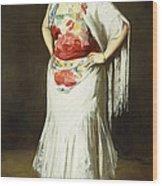 La Reina Mora Wood Print