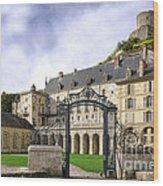 La Roche Guyon Castle Wood Print by Olivier Le Queinec