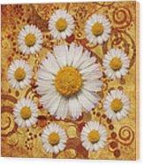 La Ronde Des Marguerites 0101a Wood Print