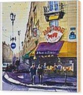 La Rotonde Des Tuileries Wood Print