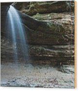La Salle Falls Wood Print