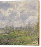 La Sente Du Chou Near Pontoise Wood Print