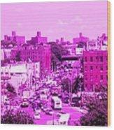 La Vie En Rose Le Bronx Wood Print