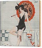 La Vie Parisienne  1923 1920s France Wood Print