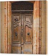 La Vieille Porte Wood Print