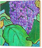 La Vin II Wood Print
