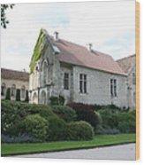 L'abbaye De Fontenay Wood Print
