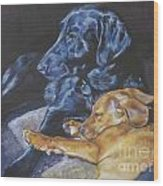 Labrador Love Wood Print