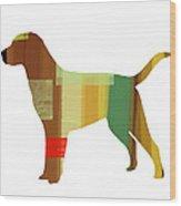 Labrador Retriever Wood Print by Naxart Studio