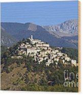 Labro, Lazio, Italy Wood Print