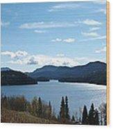 Lac Des Roches Wood Print