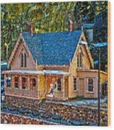Lace House Blackhawk  Colorado Wood Print