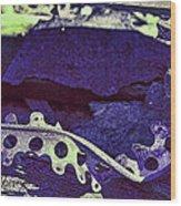 Lace II Wood Print