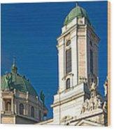 Lackawanna Basilica 12411 Wood Print