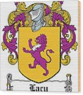 Lacy Coat Of Arms Irish Wood Print