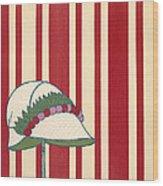 Ladies Hat, From Les Robes De Paul Wood Print