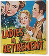 Ladies In Retirement, Us Poster, Ida Wood Print