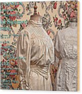 Ladies' Wear Wood Print