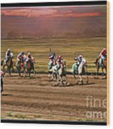 Ladies World Chapionship Ladies Cup Missing One Lady Wood Print by Blake Richards