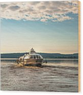 Ladoga Lake Transfer Wood Print