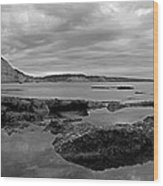 Ladram Bay And Sidmouth Wood Print