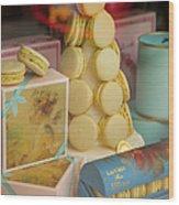 Laduree Macarons Wood Print