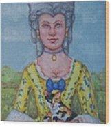 Lady Abigail Wood Print