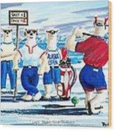 Lady Bears Professional Golf Association Wood Print
